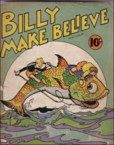 Billy Make Believe 1-A by United Features Syndicate