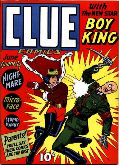 Clue Comics (1943) 4-A by Hillman