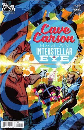 Cave Carson Has an Interstellar Eye 3-A