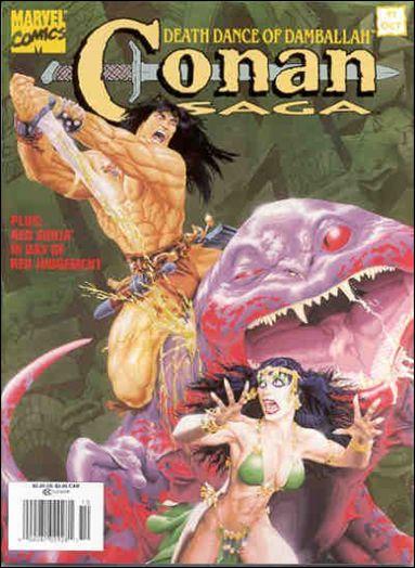 Conan Saga 91-A by Marvel