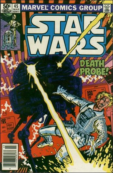 Star Wars (1977) 45-A by Marvel