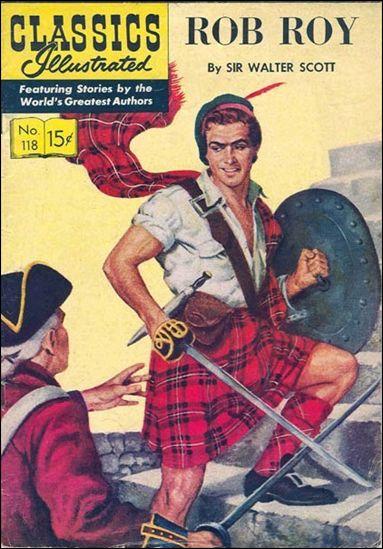 Classic Comics/Classics Illustrated 118-A by Gilberton