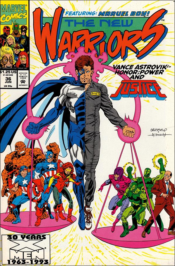 New Warriors (1990) 36-A by Marvel