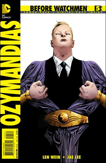 Before Watchmen: Ozymandias 5-C by DC