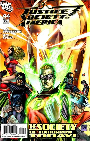 Justice Society of America (2007) 44-A by DC