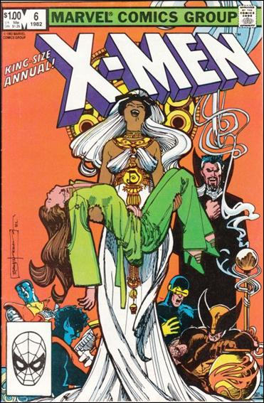 Uncanny X-Men Annual 6-A by Marvel