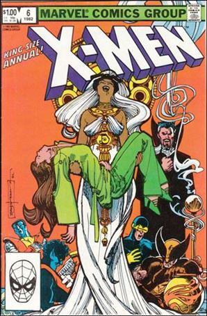 Uncanny X-Men Annual 6-A