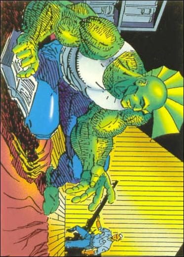 Savage Dragon (Base Set) 33-A by Comic Images