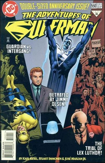 Adventures of Superman (1987) 550-A by DC