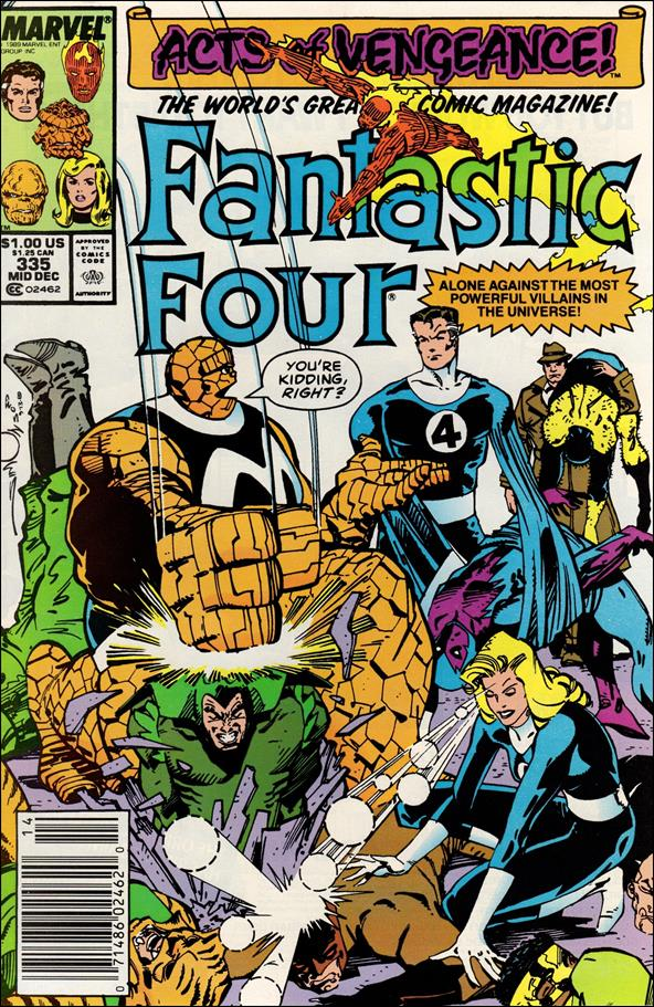 Fantastic Four (1961) 335-A by Marvel