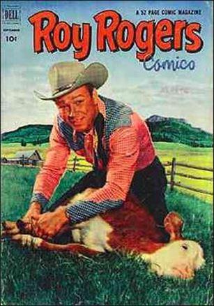 Roy Rogers Comics 57-A