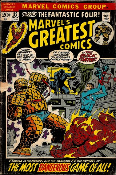 Marvel's Greatest Comics 39-A by Marvel