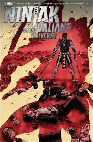 Ninjak vs the Valiant Universe 4-A