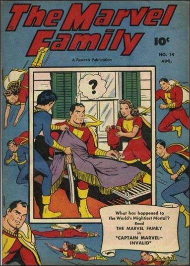 Marvel Family 14-A by Fawcett