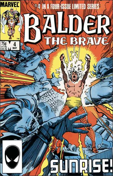 Balder the Brave 4-A by Marvel