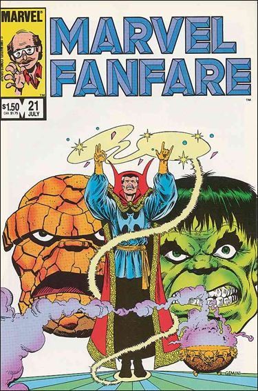Marvel Fanfare (1982) 21-A by Marvel
