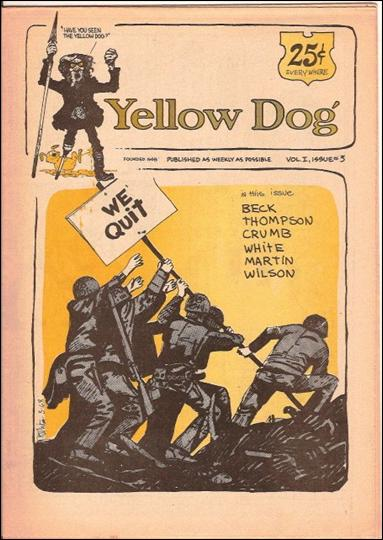 Yellow Dog 3-A by Print Mint