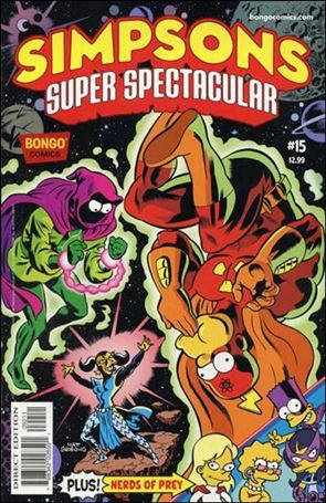 Bongo Comics Presents Simpsons Super Spectacular 15-A