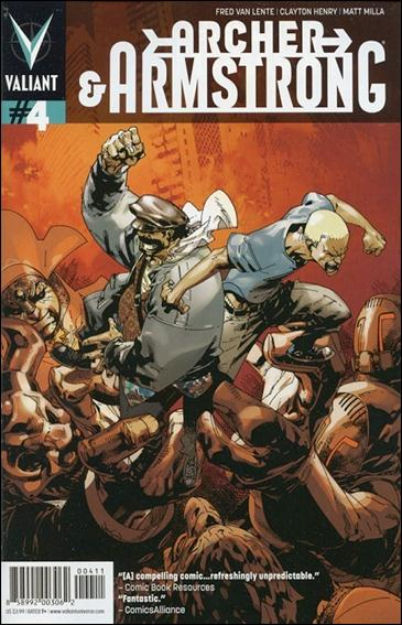 Archer & Armstrong (2012) 4-A by Valiant Entertainment