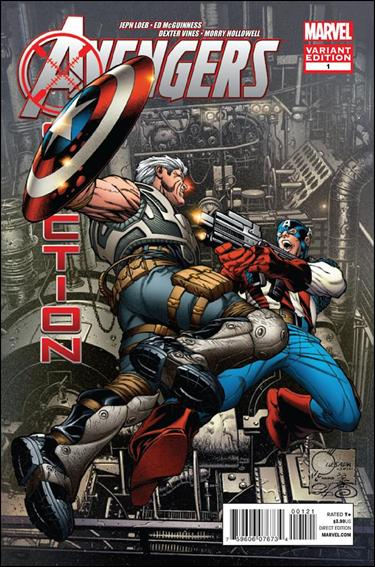 Avengers: X-Sanction 1-D by Marvel