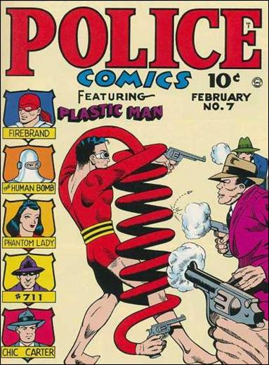 Police Comics 7-A by Comic Magazines