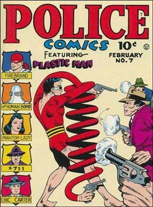 Police Comics 7-A