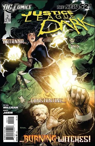 Justice League Dark 2-A by DC