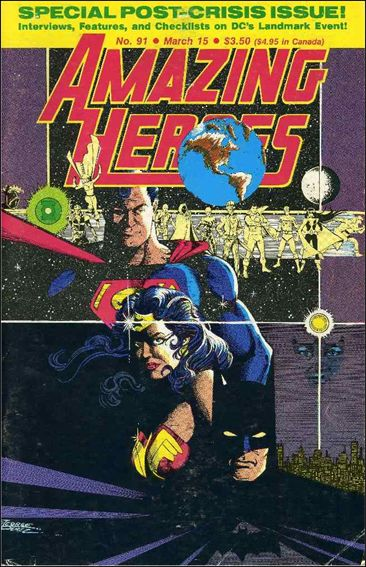Amazing Heroes 91-A by Fantagraphics
