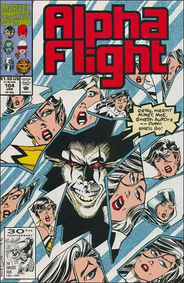 Alpha Flight (1983) 104-A by Marvel