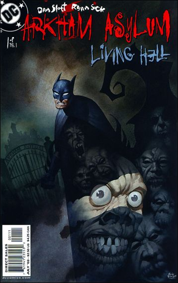 Arkham Asylum: Living Hell 1-A by DC