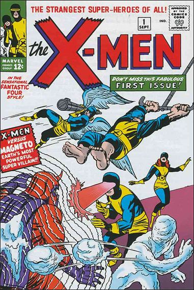 X-Men (1963) 1-A by Marvel