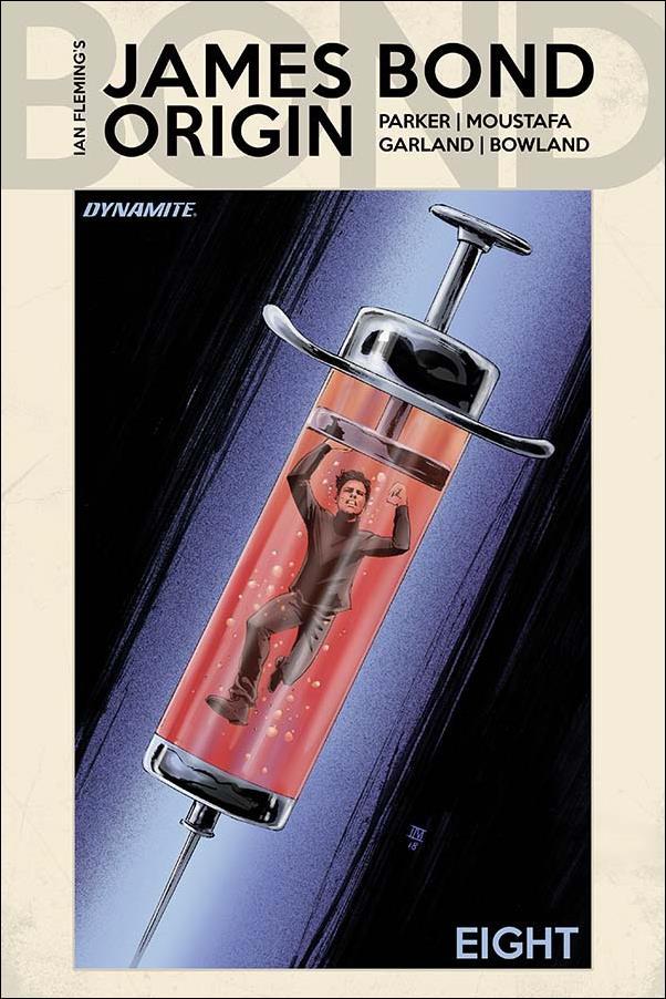 James Bond: Origin 8-D by Dynamite Entertainment