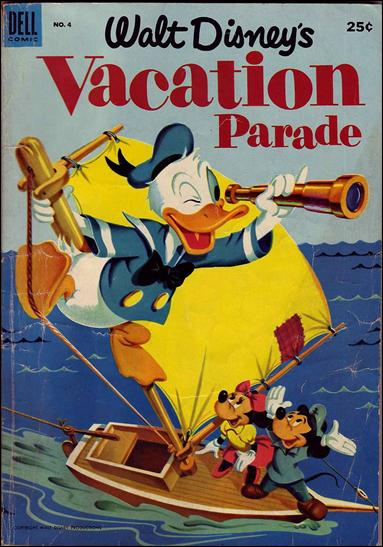 Walt Disney's Vacation Parade (1950) 4-A by Dell
