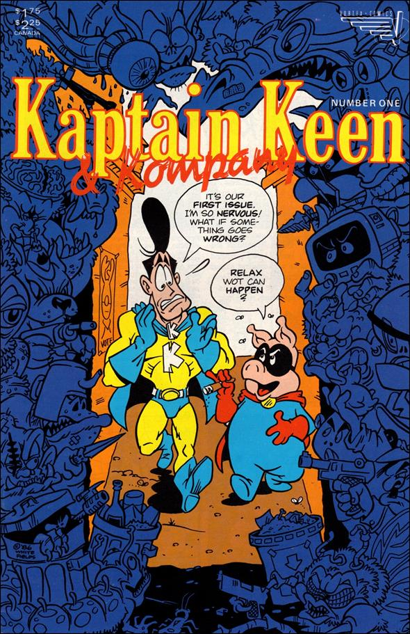 Kaptain Keen &amp; Kompany 1-A by Vortex Comics