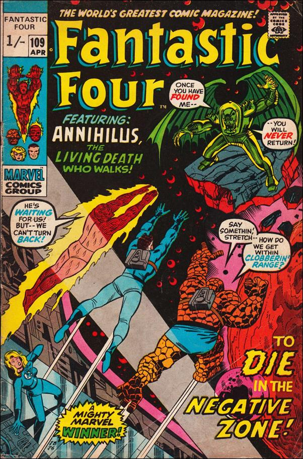 Fantastic Four (1961) 109-B by Marvel