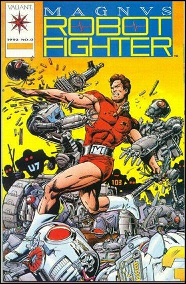 Magnus Robot Fighter (1991) 0-B by Valiant