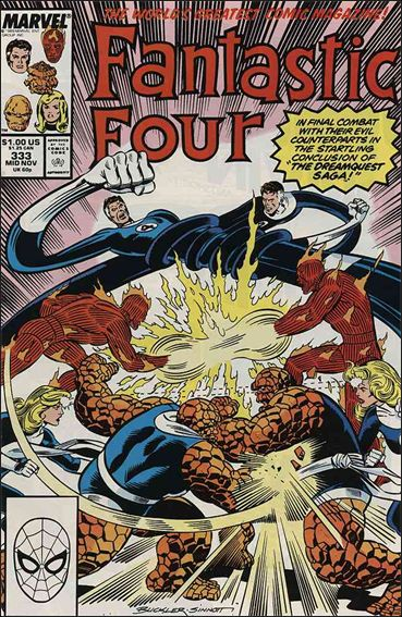 Fantastic Four (1961) 333-A by Marvel