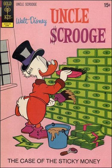 Walt Disney's Uncle Scrooge 99-A by Gemstone