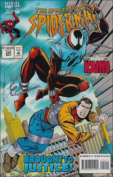 Spectacular Spider-Man (1976) 224-A by Marvel
