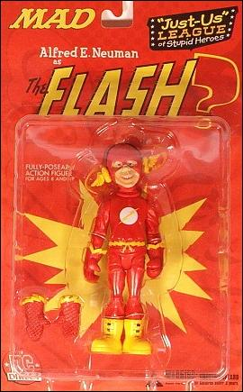 Just-Us League of Stupid Heroes Alred E. Neuman as the Flash by DC Direct