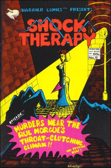 Shock Therapy (UK) 5-A by Harrier Comics