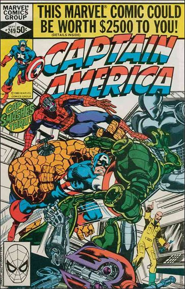 Captain America (1968) 249-A by Marvel