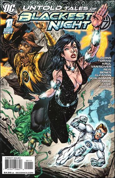 Untold Tales of Blackest Night 1-A by DC