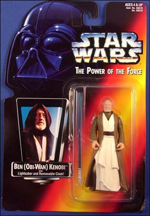 "Star Wars: The Power of the Force 2 3 3/4"" Basic Action Figures Ben (Obi-Wan) Kenobi .00 (Long Saber/Long Tray)"