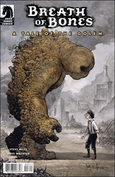 Breath of Bones: A Tale of the Golem 3-A by Dark Horse