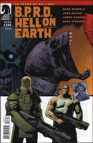 B.P.R.D. Hell on Earth (2012) 126-A