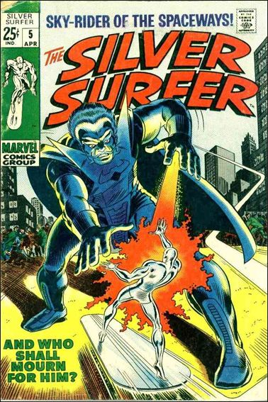 Silver Surfer (1968) 5-A by Marvel