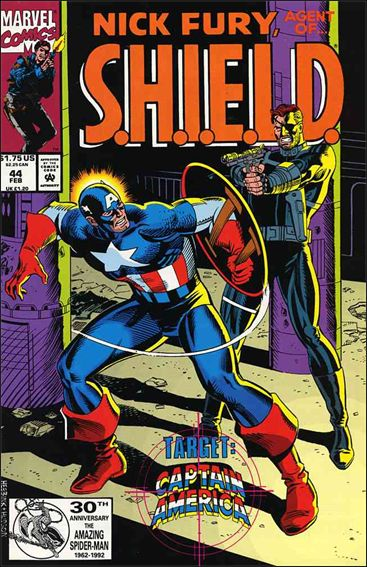 Nick Fury, Agent of S.H.I.E.L.D. (1989) 44-A by Marvel