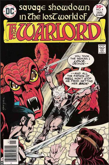 Warlord (1976) 4-A by DC