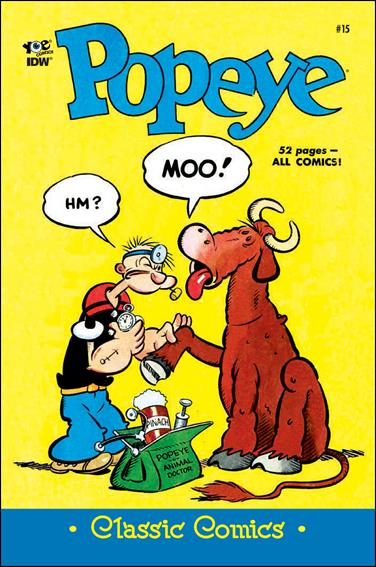 Classic Popeye 15-A by IDW